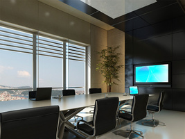 Video Conference System in Boardroom